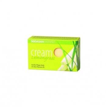 Органическое мыло-крем Sodasan Lemongrass, 100 г