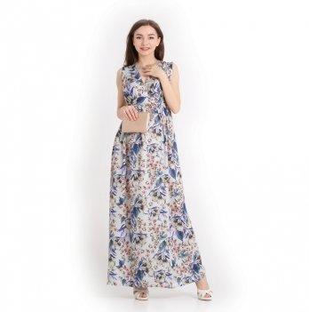 Платье для беременных NowaTy Нежная мелодия Синий