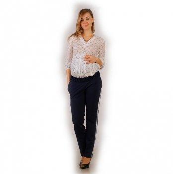 Штаны для беременных NowaTy Модный акцент Синий