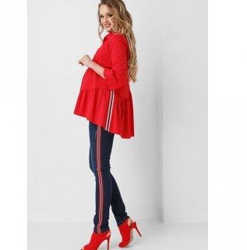 Блуза для беременных и кормящих мам Dianora красная 1907 0621