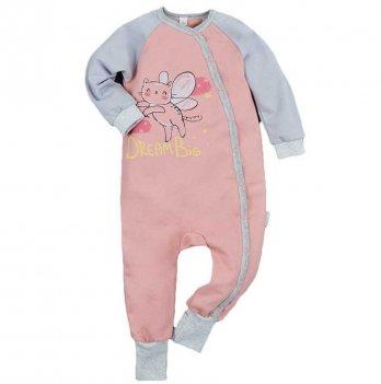 Пижама детская теплая Sweet Mario Коралловый 3-08-10