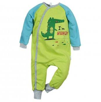 Пижама детская теплая Sweet Mario Зеленый 3-08-14