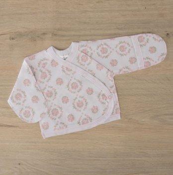 Распашонка для новорожденных Бетис Блеск Розовый