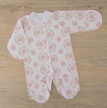 Человечек для новорожденных Бетис Блеск Розовый