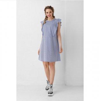 Платье для беременных Dianora голубое с крылышками 1940 1034
