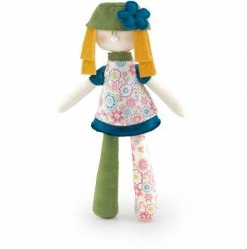 Мягкая игрушка Кукла в зеленом Trudi 33 см