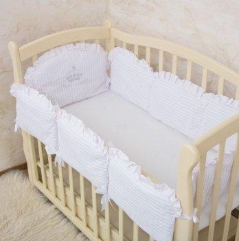 Бортики в кроватку Бетис Королевский с вышивкой