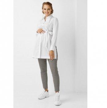 Рубашка для беременных и кормящих мам Dianora 1960 0173 белый