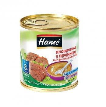 Пюре мясное Hame говядина с печенью 100 г