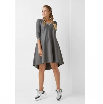 Платье для беременных и кормящих мам Dianora 1962 1205 серый