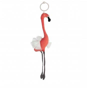 Игрушка плюшевая Canpol babies Jungle Спящий фламинго Коралловый 68/060
