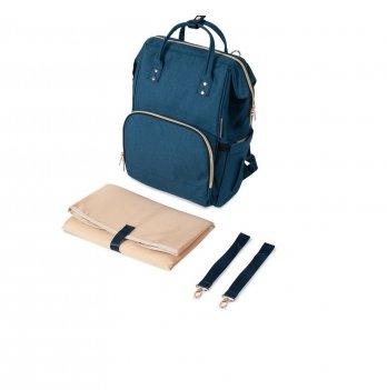 Рюкзак для коляски Canpol babies Lady Mum Синий 50/104