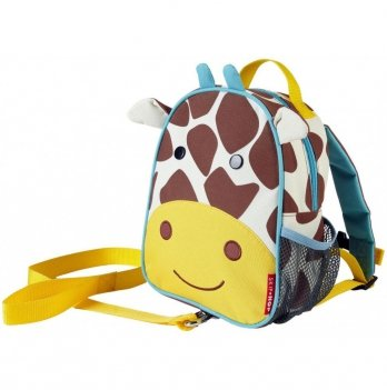 Рюкзак Skip Hop с поводком Жираф