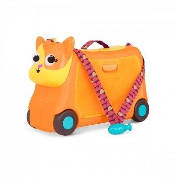 Детский чемодан-каталка для путешествий Battat Котик-турист LB1759Z