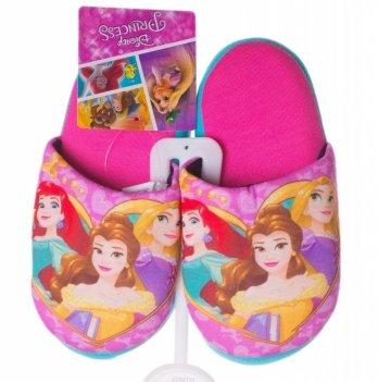 Тапочки-шлепанцы Disney Принцессы розовые