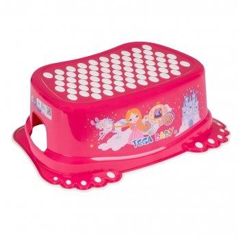 Ступенька детская Tega baby Принцессы Розовый LP-006-123