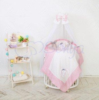 Комплект Lucky Star Oval, Маленькая Соня, розовый
