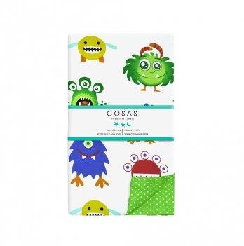 Детский пододеяльник Cosas Monstr Dots 110х140 см