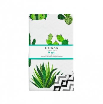 Детский пододеяльник Cosas Cactus Green 110х140 см