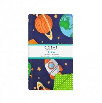Детский пододеяльник Cosas Space 110х140 см
