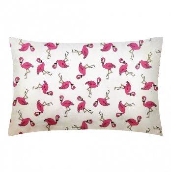 Детская наволочка бязь Cosas Flamingo 60х40 см