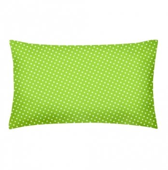 Детская наволочка бязь Cosas Dots Green 60х40 см