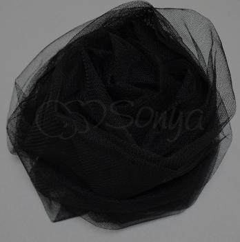 Москитная сетка для коляски Маленькая Соня 180033 черный 90х140 см