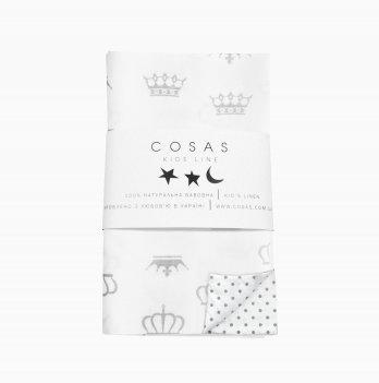Детский пододеяльник Cosas Crown 110х140 см
