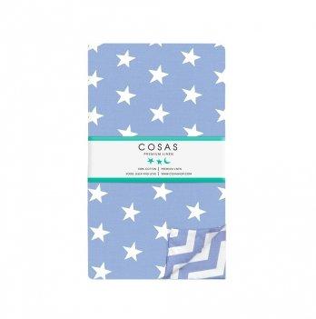 Детский пододеяльник Cosas Stars Blue 110х140 см
