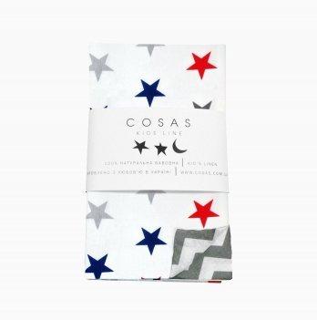 Детский пододеяльник Cosas Starsdom Zigzag 110х140 см