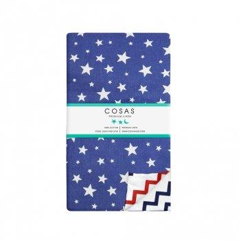Детский пододеяльник Cosas Starfall Blue 110х140 см