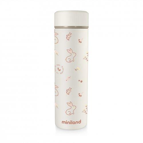 Термос для жидкостей Miniland Baby Natur Thermos BUNNY 450 мл