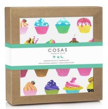 Непромокаемая пеленка Cosas Diaper Cake 70х120 см