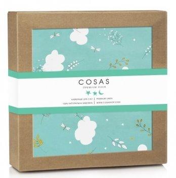 Непромокаемый наматрасник Cosas Water Sheet Cloud 70х120 см