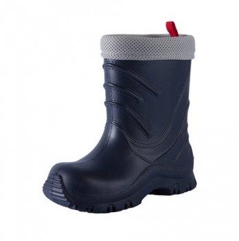 Сапоги резиновые для мальчика Reima Frillo rainboot, темно-синие