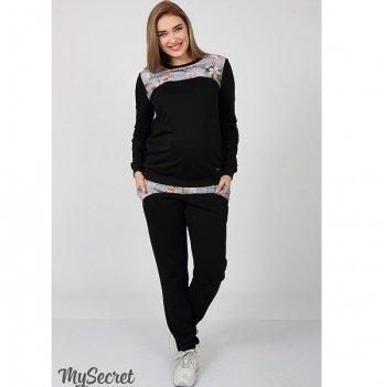 Брюки спортивные для беременных MySecret Noks SP-37.041 черный