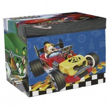 Органайзер для игрушек Arditex Микки и веселые гонки + игра