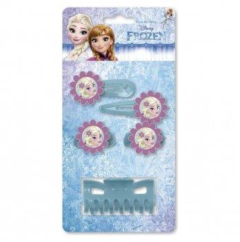 Набор заколок на волосы Arditex Disney Холодное сердце, голубой