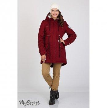 Куртка для беременных MySecret Inira Бордовый OW-36.042