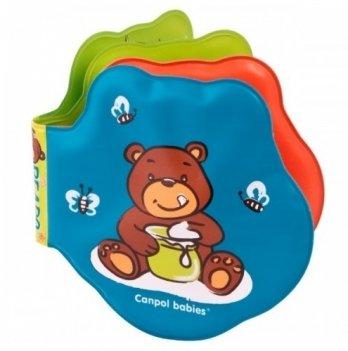 Книжка мягкая Canpol babies Медвежонок (меняет цвет)