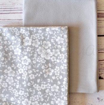 Подарочный набор пеленок Маленькая Соня Жаккард серый, 2 шт.