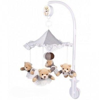 Мобиль в кроватку Canpol babies Медвежата, плюшевый
