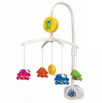 Мобиль в кроватку Canpol babies Коровки и гиппопотамы, пластиковый