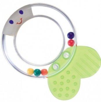 Погремушка-прорезыватель Canpol babies Прозрачный круг