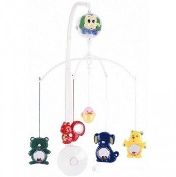 Мобиль в кроватку Canpol babies Весёлый зоопарк, пластиковый