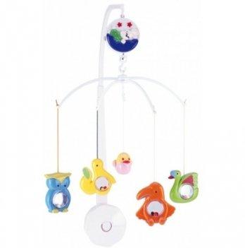 Мобиль в кроватку Canpol babies Райские птицы, пластиковый