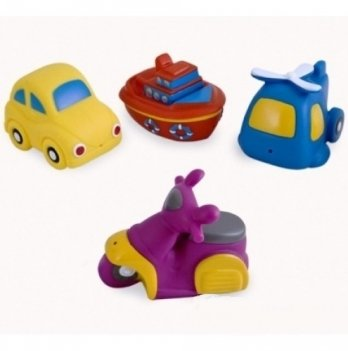 Игрушка для купания Canpol babies Транспорт, 4 шт.