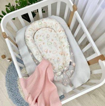Кокон для новорожденных Маленькая Соня Baby Design Куклы Серый 5019600