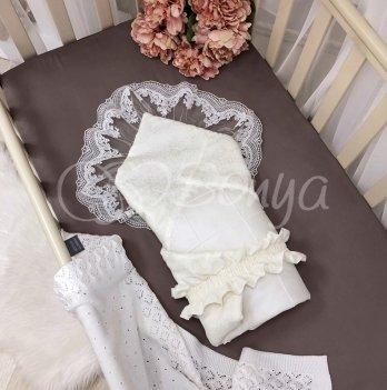 Плед конверт для новорожденных Маленькая Соня Elegance Молочный 154535