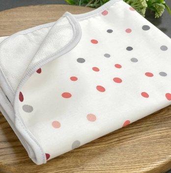 Непромокаемая пеленка для детей Маленькая СоняАкварельный горошек персикБелый/Розовый115735